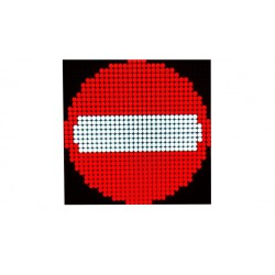 Variable Message Sign for Parking  directing traffic - Indoor